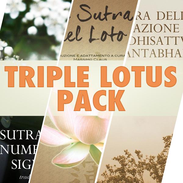 Triple Lotus Pack-600