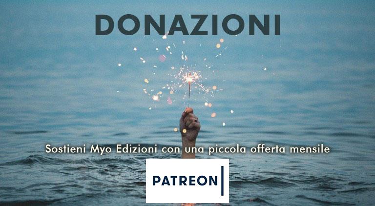 Donazioni Patreon per Myo Edizioni - libri e CD su Buddhismo e meditazione