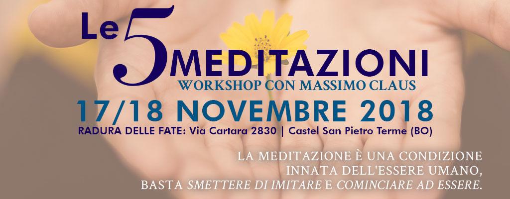 Workshop 5 Meditazioni